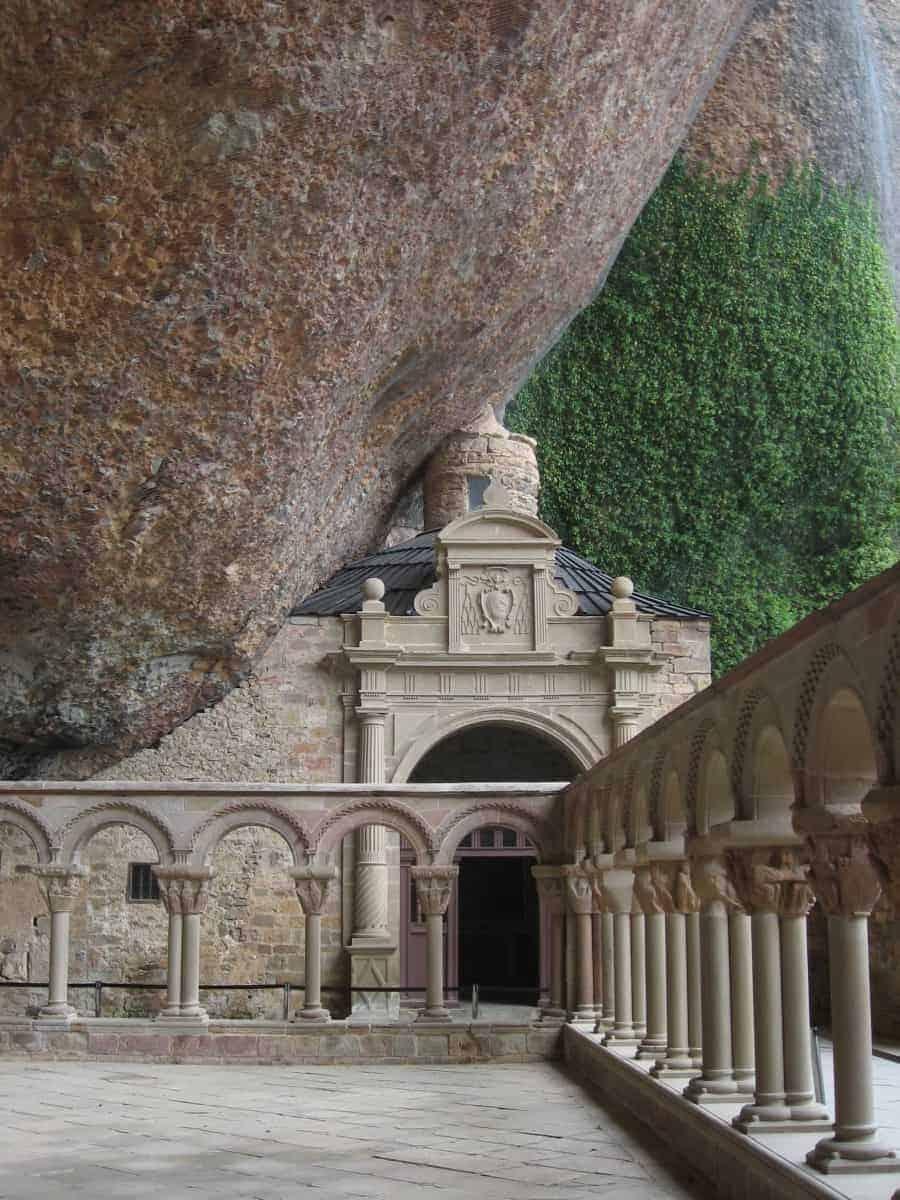 San Juan de la Pena monastery on Camino Aragones