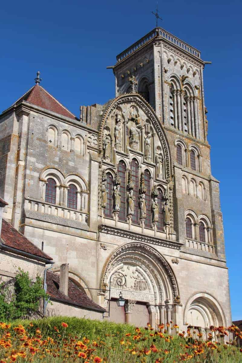 La Basilique Sainte-Marie-Madeleine in Vézelay, FR. Begins the Vezelay Chemin route